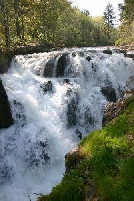 Oregon Waterfalls Falls City Falls